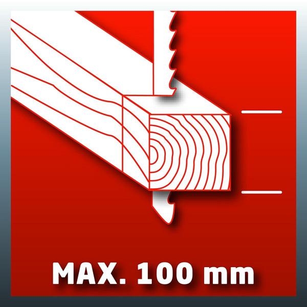 Лобзик TE-JS 100, 750 Вт, EINHELL — Инсел