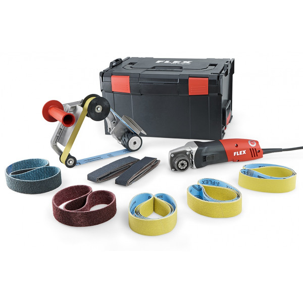 Машина ленточная для шлифования труб TRINOXFLEX BRE 14-3 125 Set, FLEX - Инсел