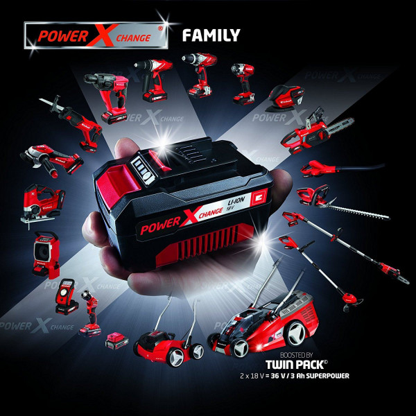 Аккумулятор 18V 4,0 Ah Power-X-Change, EINHELL  — Инсел