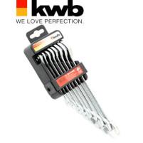 Набор ключей рожковых, 8 предметов, KWB - Инсел