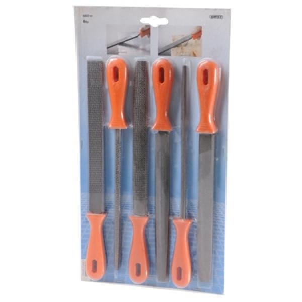Набор напильников и рашпилей (6шт), KRAFTIXX - Инсел