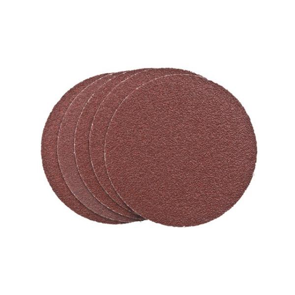 Шлифдиски самоприлипающие без отверстий 125/K 80 SB-картон - Инсел