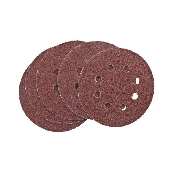 Шлифдиски самоприлипающие с отверстиями 125 K 60 SB-картон - Инсел
