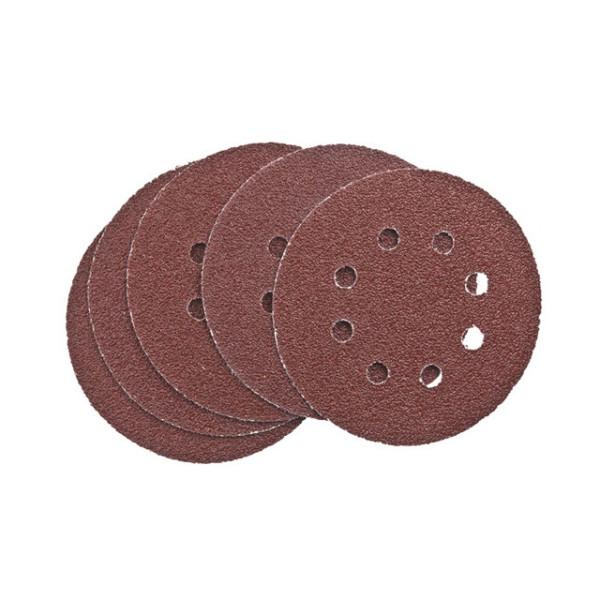 Шлифдиски самоприлипающие с отверстиями 125 K120 SB-картон - Инсел