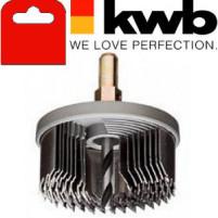 Коронка пильная по дереву, 8 частей, закаленный зуб, KWB - Инсел