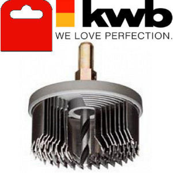 Коронка пильная по дереву, 8 частей, закаленный зуб, KWB — Инсел