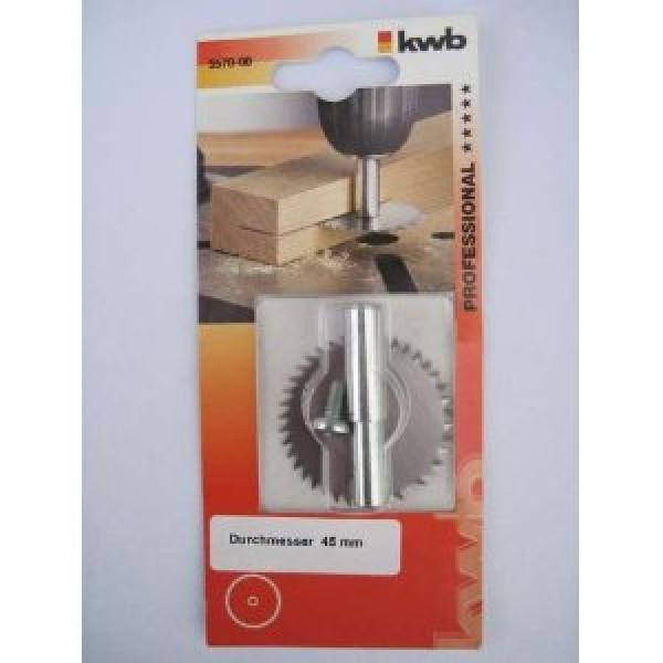 Пила шлицевая, 45 мм х 0,8 мм,KWB - Инсел