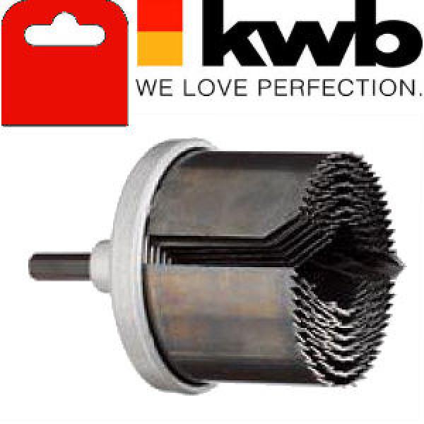 Коронка пильная по дереву, 7 частей, глубина реза 40 мм, KWB - Инсел