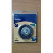 Щетка дисковая 75 мм, жесткая, Valuetools - Инсел