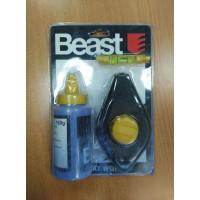Рулетка с разметочным тросиком, 15м, Beast (уценка 50%) - Инсел