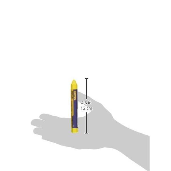 Карандаш разметочный (мелок) желтый 2шт./уп., IRWIN  — Инсел