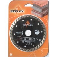 Диск алмазный Turbo 230x7x2,8 мм, REFLEX/ORANGE - Инсел