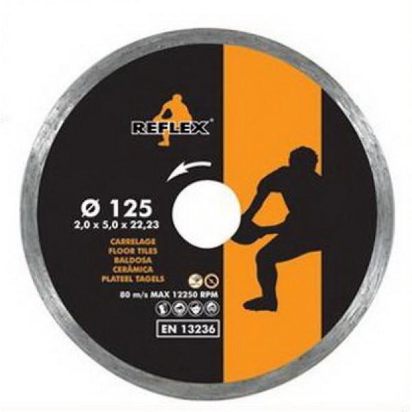 Диск алмазный по керамике 180x5x2,0x22,2/25,4/30,00 мм, REFLEX/ORANGE - Инсел