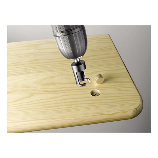 Набор фрез  для изготовления деревянных пробок, шипов, 3 предмета,KWB  — Инсел