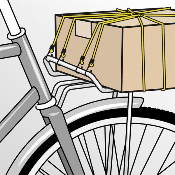 Веревка для багажа, 900 х 8мм, KWB  — Инсел
