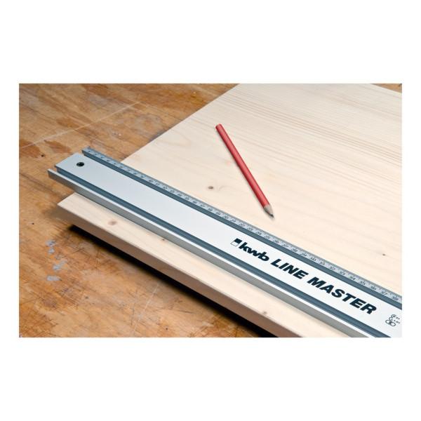 Линейка алюминиевая 1000 мм KWB LINE MASTER  — Инсел