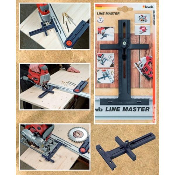 Направляющая для электроинструмента KWB LINE MASTER  — Инсел