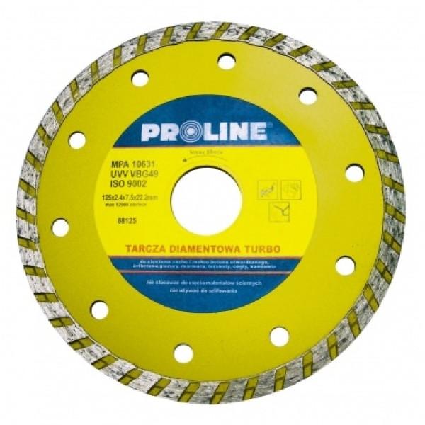 Диск алмазный 115x2,4x7,5x22,2 мм (Turbo) PROLINE - Инсел