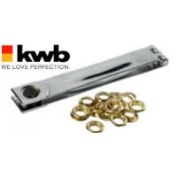 Штамп для пистонов + 12 пистонов L175мм Ø 16мм, KWB - Инсел
