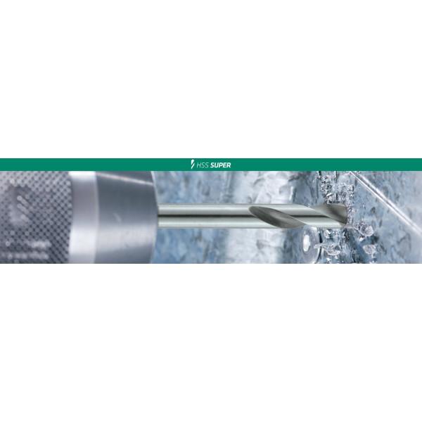 Сверло по металлу HSS-Super 6-kant 5.0 PLT  — Инсел