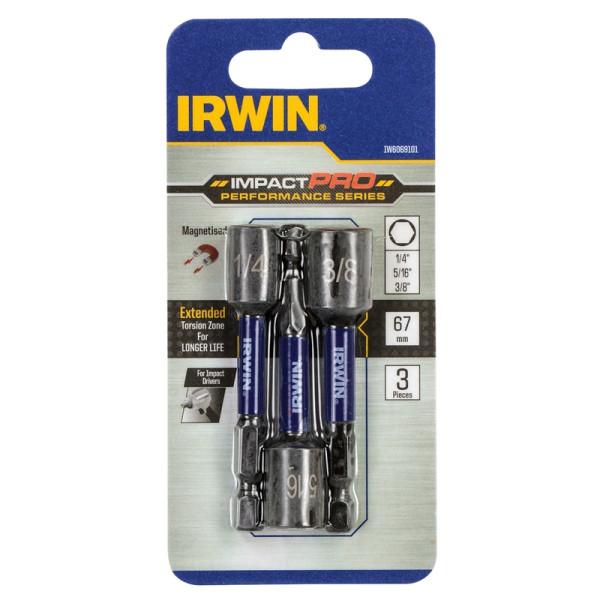Набор головок IMPACT PRO PERF 3шт. (7/8/10 мм), IRWIN - Инсел