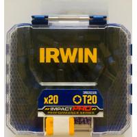 Набор бит IMPACT PRO PERF T20 20 шт. BULK, IRWIN - Инсел