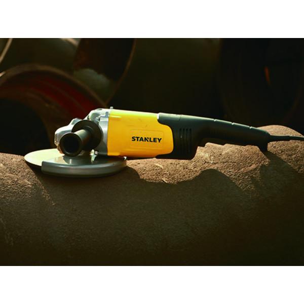 Угловая шлифовальная машина (болгарка) STGL2223 230мм, 2200 Вт, Stanley  — Инсел