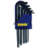 Набор шестигранных ключей L - длинных - 10 шт.  (1,5 - 10,0 мм) - Инсел