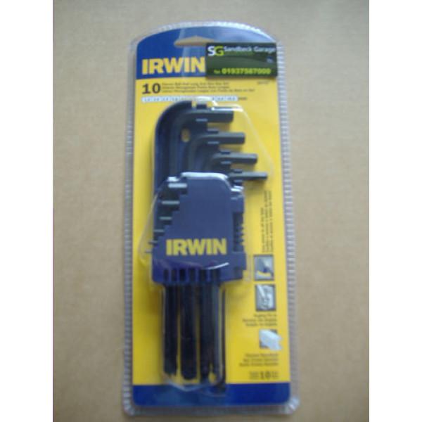 Набор ключей шестигранных - круглых - 10 шт. (1,5 - 10 мм) IRWIN - Инсел