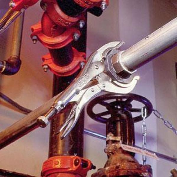 Щипцы для труб 0 - 75 мм тип 12LC/300 мм - большие губки  — Инсел