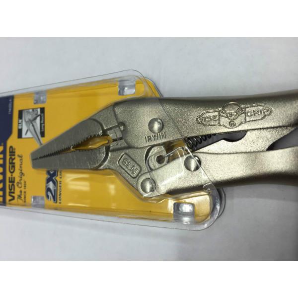 Щипцы тип 6LN/150 мм - длинные губки, с кусачками  — Инсел