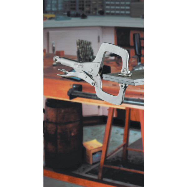Щипцы-зажим C тип 11SP/275 мм - губки с подвижным окончанием  — Инсел