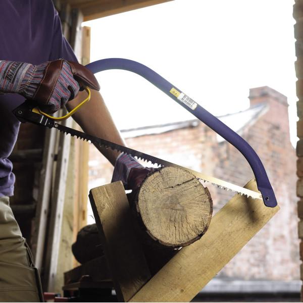 Пила лучковая ЭКСПЕРТ для сырой древесины 533 мм/21
